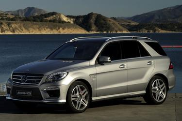 2013 Mercedes-Benz M-Class ML 350 SUV Apex NC