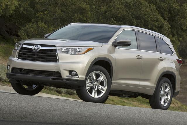 2015 Toyota Highlander LIMITED SUV Slide 0