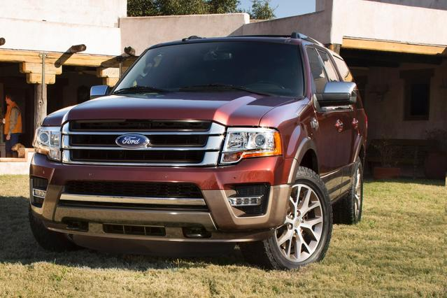 2015 Ford Expedition KING RANCH Slide 0
