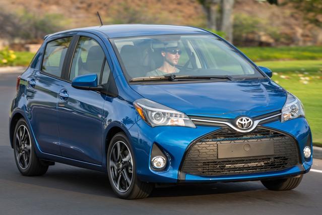2015 Toyota Yaris LE Hatchback Slide 0