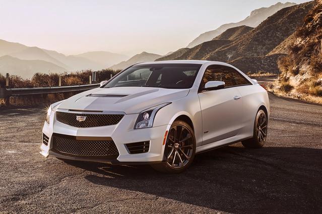2016 Cadillac Ats-V Coupe 2DR CPE 2dr Car Slide 0