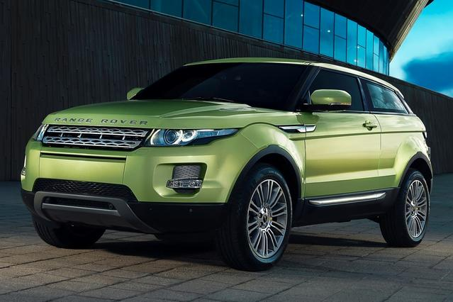 2015 Land Rover Range Rover Evoque PURE 4D Sport Utility Slide 0