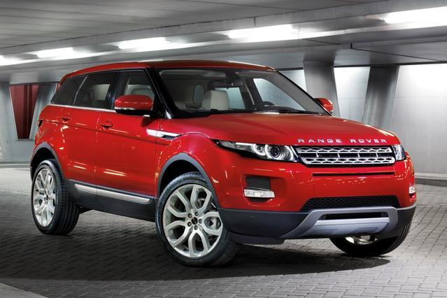 2014 Land Rover Range Rover Evoque PURE SUV Slide 0