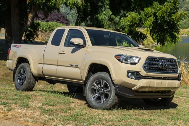2016 Toyota Tacoma TRD SPORT Long Bed Slide 0