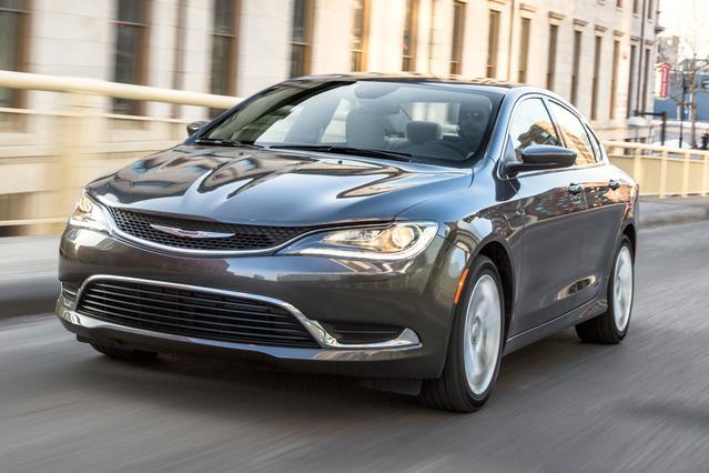 2016 Chrysler 200 LX 4dr Car Slide 0