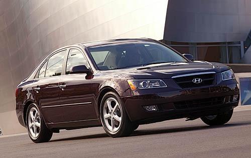 2006 Hyundai Sonata GLS V6 4D Sedan Slide 0