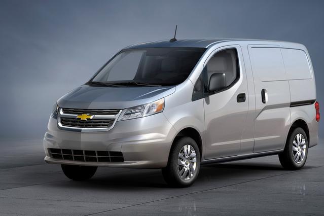 2017 Chevrolet City Express 1LS Slide 0