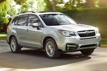 Ice Silver Metallic 2017 Subaru Forester 2.5i Premium SUV Hillsborough NC