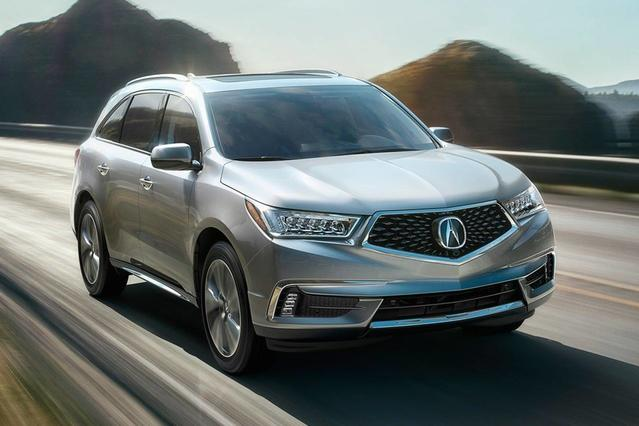 2017 Acura MDX W/ADVANCE PKG SUV Slide 0