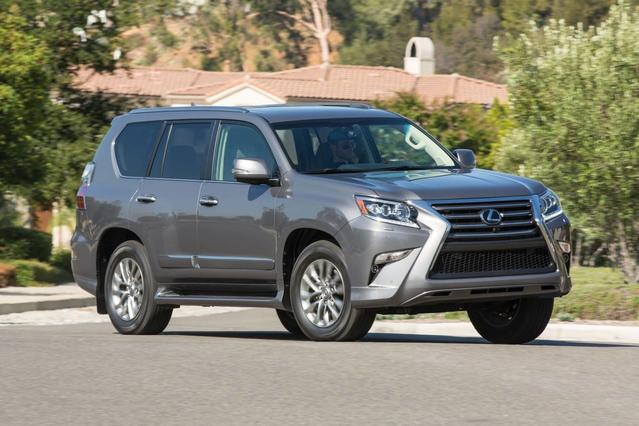 2017 Lexus GX 460 LUXURY Slide 0