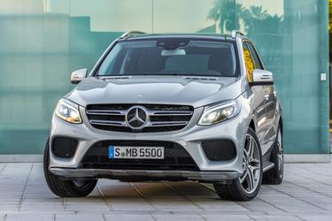 2016 Mercedes-Benz GLE 350 SUV Slide