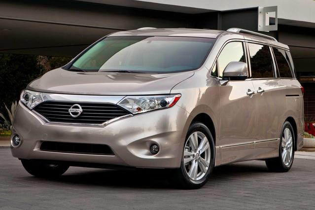 2013 Nissan Quest 3.5 LE Slide 0