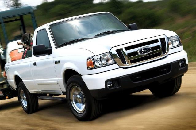 2010 Ford Ranger XL Extended Cab Pickup Slide 0
