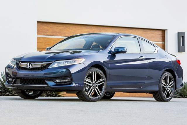 2016 Honda Accord EX Coupe Slide 0