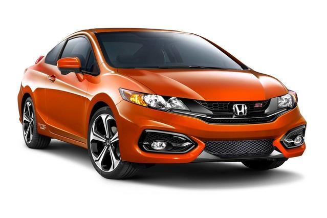 2014 Honda Civic 2DR MAN SI  NC