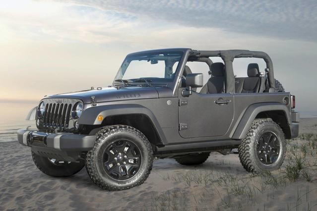 2017 Jeep Wrangler Unlimited RUBICON SUV Slide 0