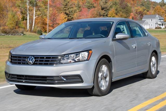 2016 Volkswagen Passat 1.8T S 4dr Car Slide 0