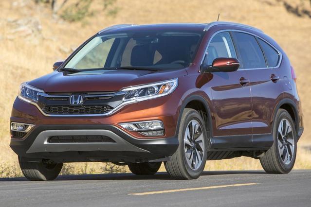 2016 Honda CR-V EX-L SUV Slide 0