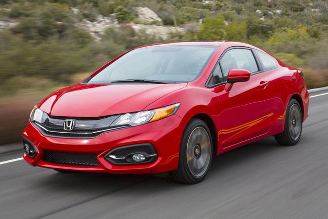 2015 Honda Civic Coupe EX 2dr Car Slide 0