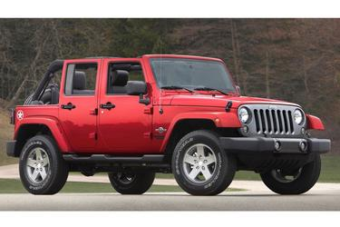 2015 Jeep Wrangler Unlimited SAHARA Convertible Slide