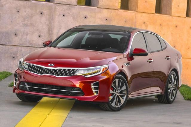 2016 Kia Optima LX 4dr Car Slide 0