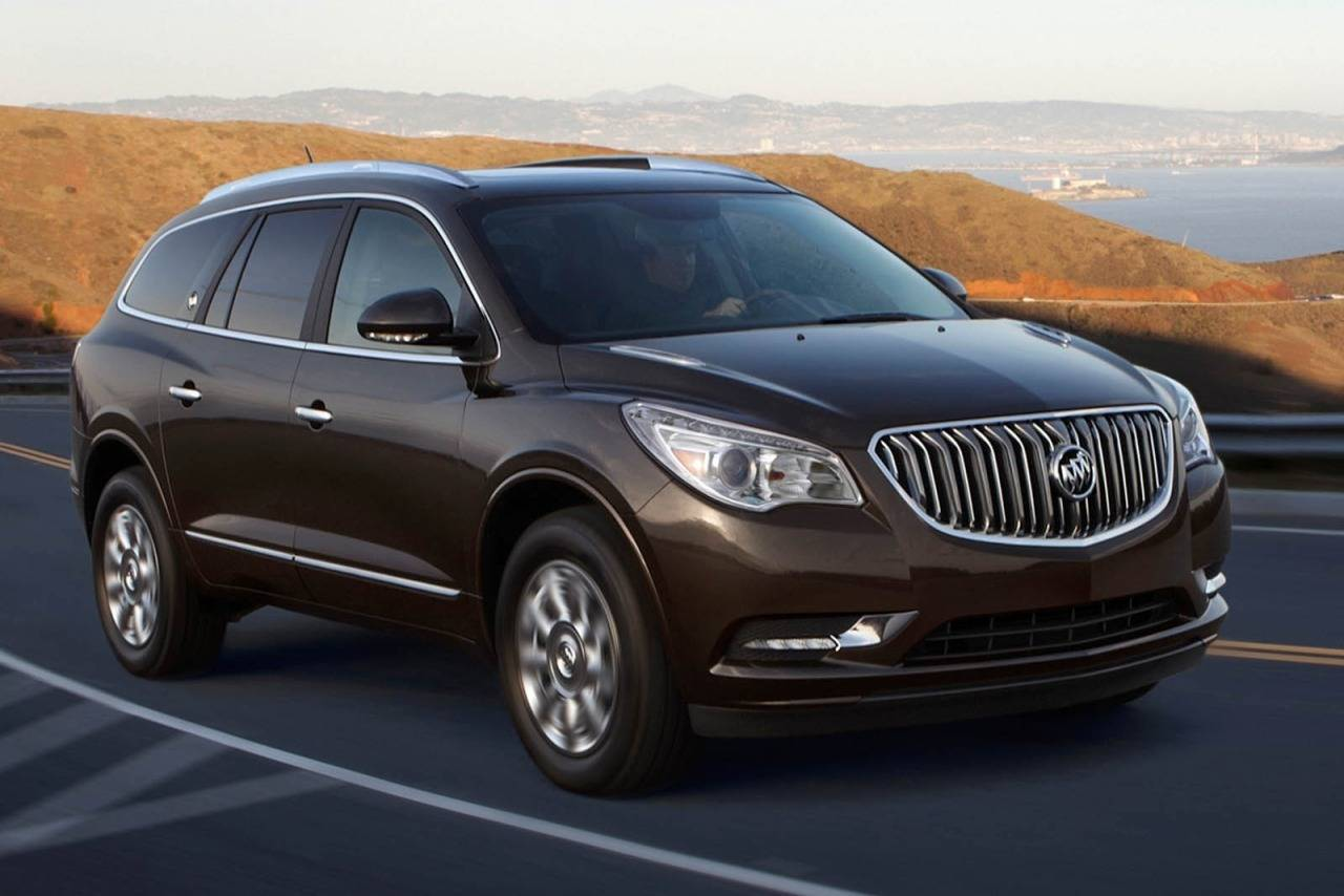2014 Buick Enclave LEATHER Leather 4dr Crossover Slide 0