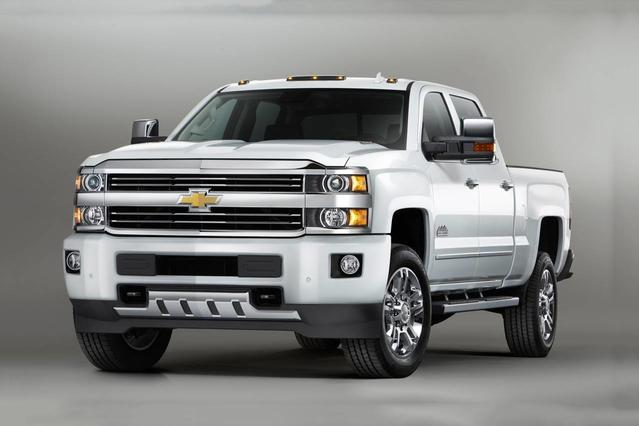 2017 Chevrolet Silverado 2500HD WORK TRUCK Crew Cab Pickup Slide 0