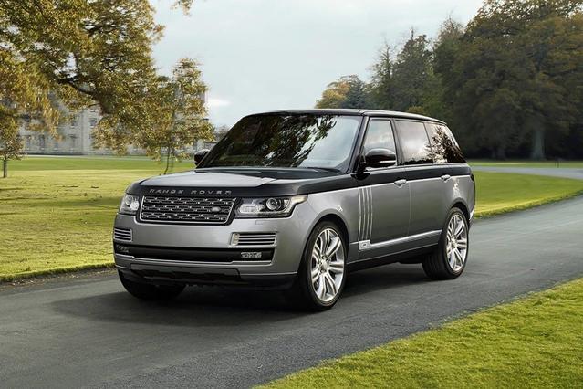 2017 Land Rover Range Rover HSE SUV Slide 0