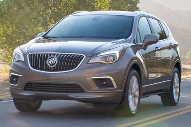 Red 2017 Buick Envision Essence  Rocky Mount NC
