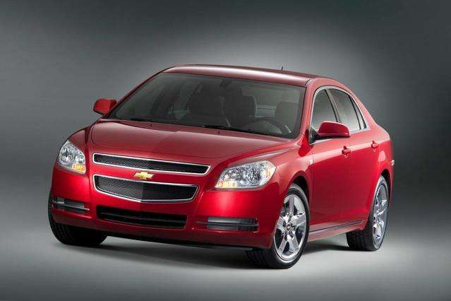 2008 Chevrolet Malibu LT W/1LT 4dr Car Slide 0