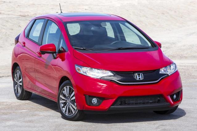 2017 Honda Fit LX Hatchback Slide 0