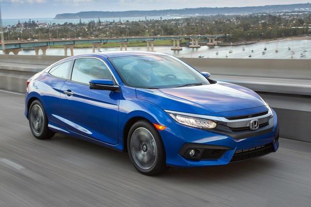 2017 Honda Civic Coupe EX-L 2dr Car Slide 0