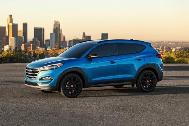 2017 Hyundai Tucson SPORT SUV Slide 0