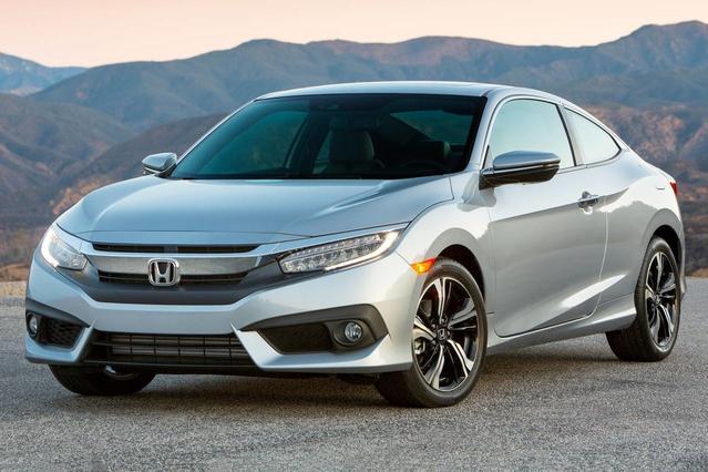2016 Honda Civic Sedan EX 4dr Car Slide 0