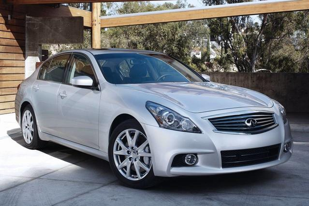 2013 INFINITI G37 Sedan X 4dr Car Slide 0