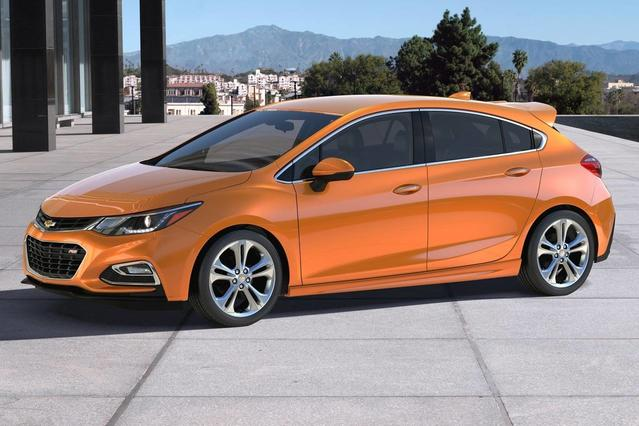 2017 Chevrolet Cruze LT 4dr Car Slide 0