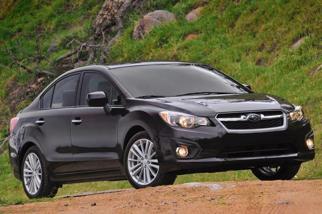 2013 Subaru Impreza 2.0I LIMITED 4D Sedan Slide 0