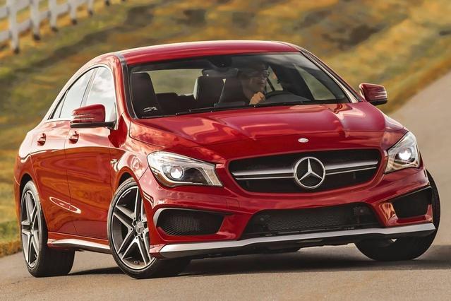 2015 Mercedes-Benz CLA CLA 250 4dr Car Slide 0