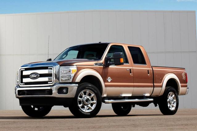 2012 Ford F-250SD XLT Crew Cab Pickup Slide 0