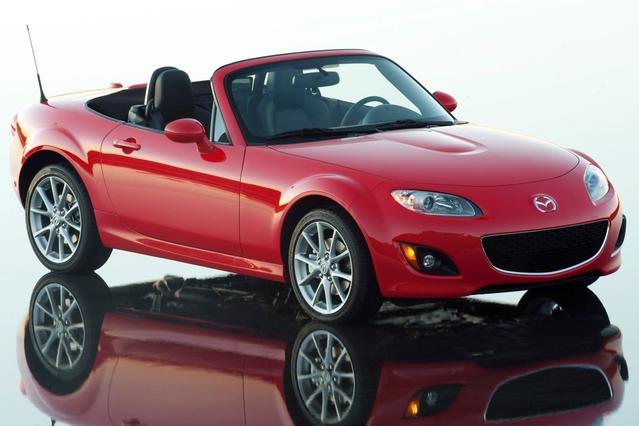 2012 Mazda Mazda Miata PRHT GRAND TOURING Convertible Slide 0