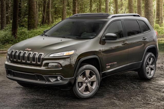 2017 Jeep Cherokee LATITUDE Sport Utility Slide 0