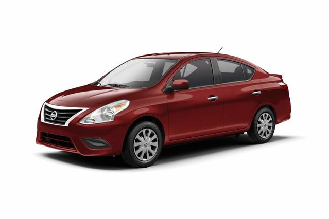 2017 Nissan Versa Sedan SV 4dr Car Slide 0