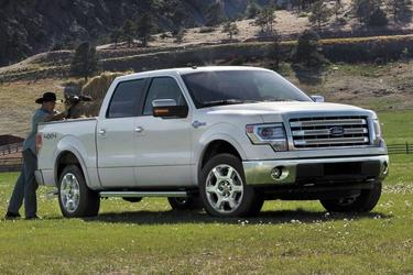 2013 Ford F-150 PLATINUM Crew Cab Pickup Slide