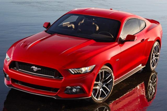 2017 Ford Mustang ECOBOOST PREMIUM 2dr Car Slide 0