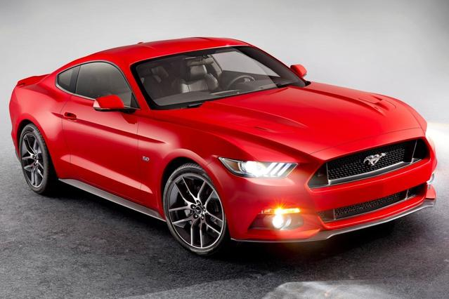 2016 Ford Mustang ECOBOOST 2dr Car Slide 0
