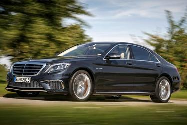 2016 Mercedes-Benz S-Class S 550 Sedan Slide