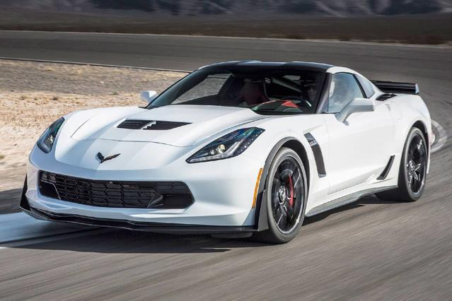 2017 Chevrolet Corvette Z06 3LZ 2dr Car Slide 0