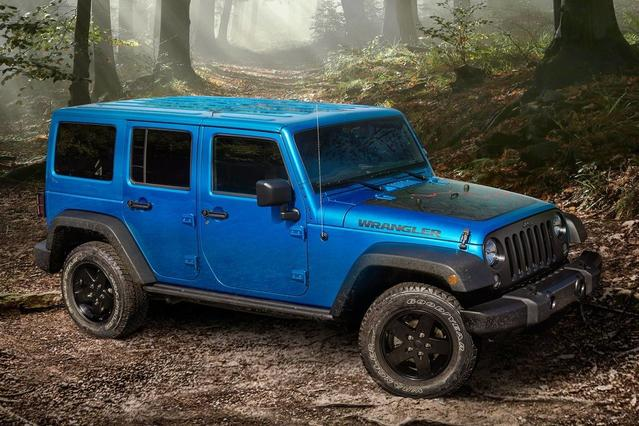 2016 Jeep Wrangler Unlimited 75TH ANNIVERSARY SUV Slide 0