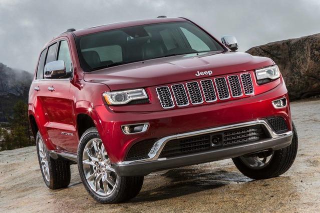 2015 Jeep Grand Cherokee OVERLAND Sport Utility Slide 0