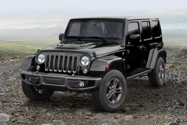 2017 Jeep Wrangler Unlimited RUBICON RECON SUV Slide 0